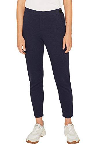 ESPRIT Damen 099EE1B039s Hose, Blau (Navy 400), W36/L30(Herstellergröße: 36/30)