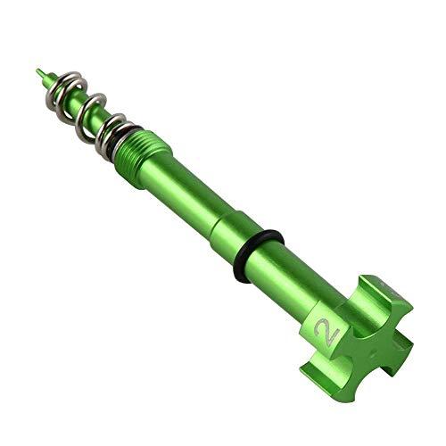 CLBEST Einfach Einstellbare Luftvergaser Kraftstoff Gemischte Schraube für Motorrad Atv Dirt Bikes Keihin Fcr Mx Vergaser Carby Motor 4 Takt