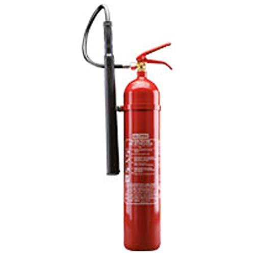 CO2 Feuerlöscher KS 5 ST, Stahlblech rot lackiert Löschmenge 5 kg Brandklasse B