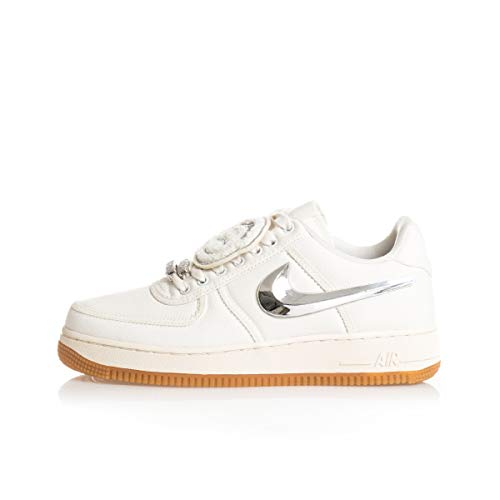 Nike AIR Force 1 Low Travis Scott Men's Sneaker AQ4211-101 -Size 13
