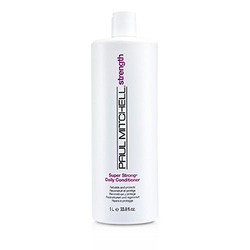 Paul Mitchell - Strength Super Strong Daily Conditioner (Rebuilds And Protects) 1000Ml/33.8Oz - Soins Des Cheveux