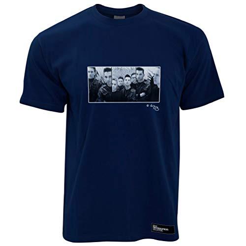 Depeche Mode, 1980's, TB Herren T-Shirt - Marineblau/L