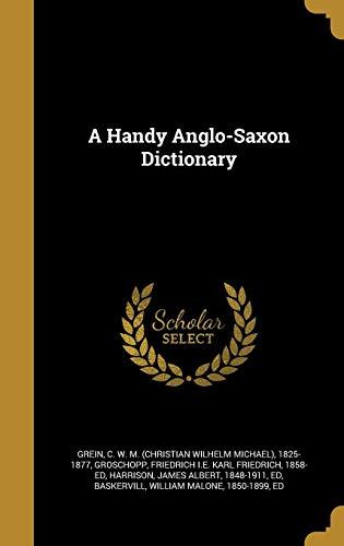 HANDY ANGLO-SAXON DICT
