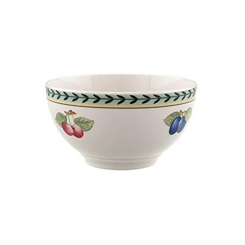 Villeroy & Boch French Garden Fleurence Bol, Porcelaine Premium, Blanc/Multicolore