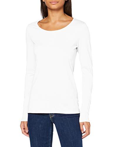 edc by Esprit 080cc1k330 T-Shirt, Bianco (110), XS Donna
