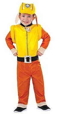 Rubies 's–Disfraz de oficial Paw Patrol Escombros Mono por Rubie's