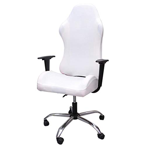 Office Chair Covers Stretch Computer Chair Slipcovers Gaming Chair Protector Slipcover Arm Rest Cover Armchair Covers for Universal Rotating Chair