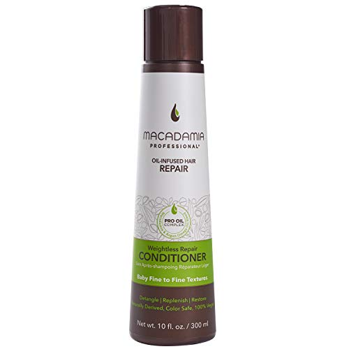 Macadamia Professional Hair Care Sulfate & Paraben Free Natural Organic Cruelty-Free Vegan Hair Products Weightless Repair Conditioner, 10oz