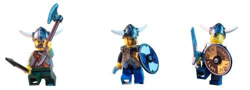 LEGO Vikings Set #7019 Viking Fortress Against the Fafnir Dragon