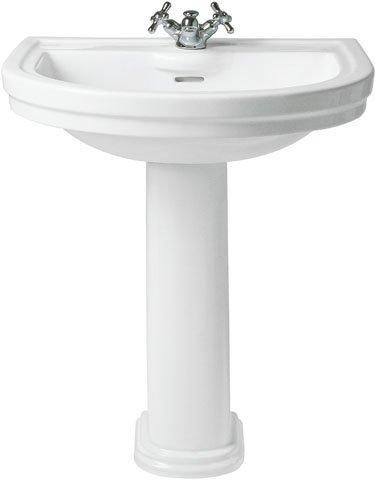 Ideal Standard Bassin Sabot t081761, Blanc, b : 690, T : 580, 1 perforé Trou de coulée