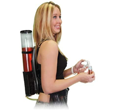 bar@drinkstuff Mochila dispensadora de Bebidas, 3 litros, dispensador de la Cerveza, para Fiestas y Eventos