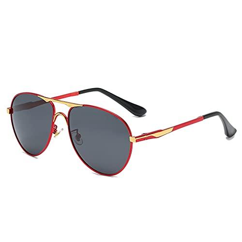 KUNIUO Gafas De Sol para Hombre Uv400 Parasol para Mujer Espejo Conducción Pesca Gafas De Sol Masculinas Oculos De Sol-C4
