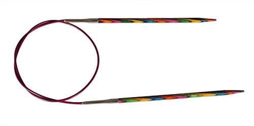 Multi-Color KnitPro 40 cm x 2 mm Symfonie Fixed Circular Needles