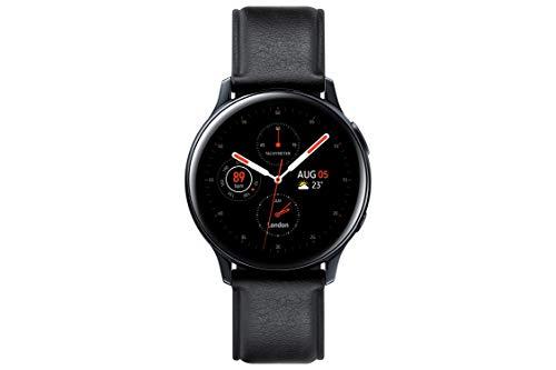 Samsung Galaxy Watch Active 2 - Smartwatch de Acero, 40mm, color Negro, LTE [Versión española]