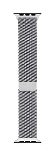 Apple Watch (40mm) Milanaise Armband, Silber