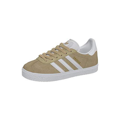 Adidas Originals Baskets Gazelle C Zapatillas para Nino Marrón, 29 EU