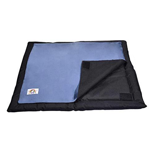 Ishine Colchoneta de arena cálida para gatos, impermeable, con dos mantas reemplazables, cuatro estaciones