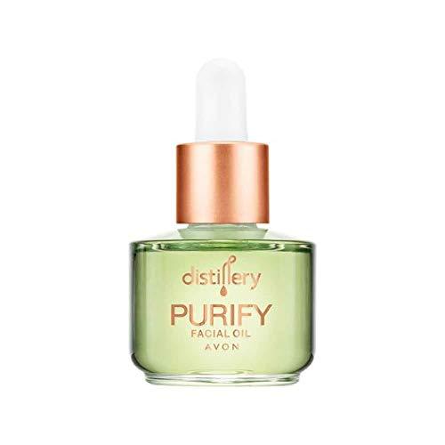 Aceite facial purificador de destilería, 30 ml, vegano y respetuoso con el medio ambiente por Avon
