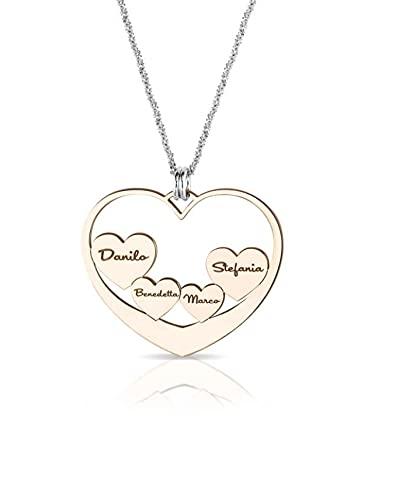 My charm Collar de plata personalizable código AG5PE99