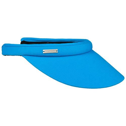 Seeberger Azalee Visor Baumwolle Baumwollvisor Sonnenvisor Sonnenschutz Blendschutz Strandvisor Damenvisor (One Size - blau)