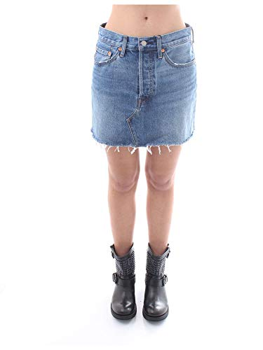 Levi's Deconstructed Skirt Falda, Middle Man, 28 para Mujer