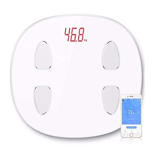 TYYW Weighing Scale, Body Fat Scale Floor Scientific Smart Electronic LED Digital Weight Bathroom Balance Bluetooth APP Android Or IOS