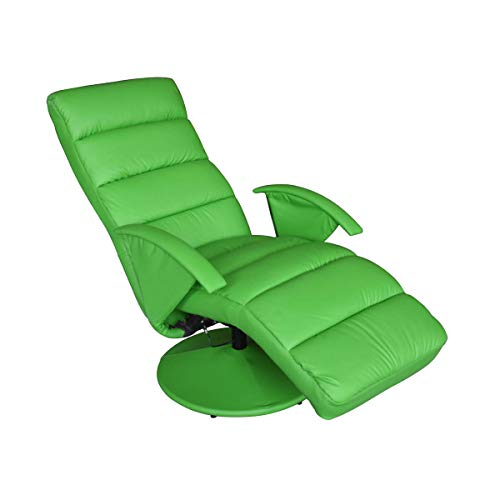 HEUTE Relaxsessel Fernsehsessel Modernes Design Lehnstuhl Relaxstuhl mit robuster Basisstütze zum Entspannen, Grün