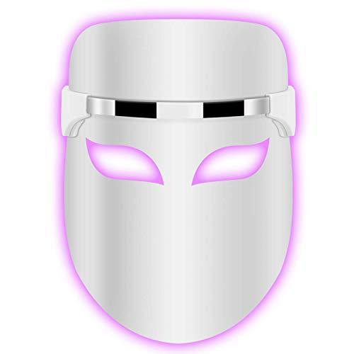 Hangsun Akne Behandlung Maske Anti-Akne Lichttherapie LED Gesichtsmaske FT330-2 in 1 Blau/Rot Licht