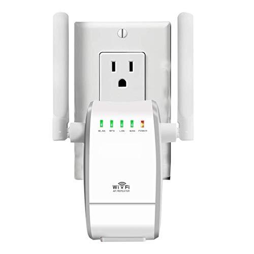 Router WiFi Standard Wireless N300 Dotato di WPS con 3 Metodi di Funzionamento tra Cui Ripetitore di Segnale e Access Point Conforme allo Standard IEEE802.11 N/G/B