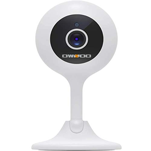 Baby Monitor, OWSOO Video Baby Monitor, Home Security Camera 1080P FHD 2.4G WiFi Camera Baby Monitor Long Range Baby Monitor...