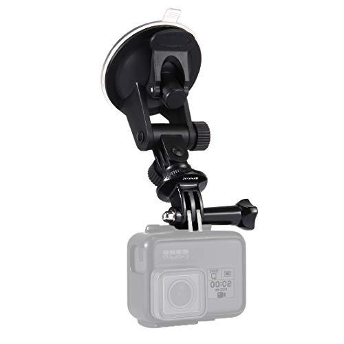 PULUZ Car Suction Cup Camera Holder Mount, Adjustable Vehicle Window &...