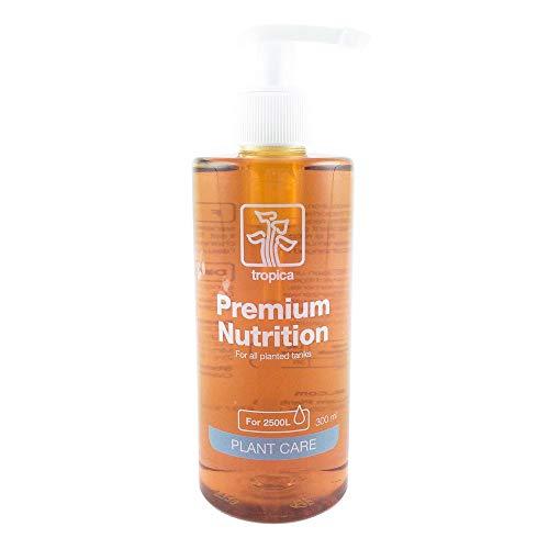 Tropica Premium Nutrition Dünger 300ml Flasche - Düngung für Aquarienpflanzen Eisen Mangan Mikronährstoffe