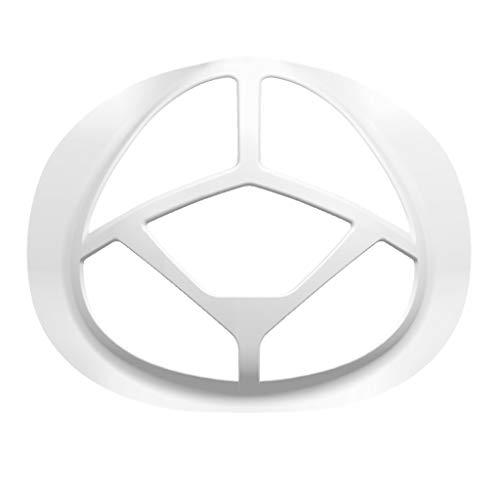 100 Stück Unisex Adult 3D-Silikon-Halterung,Stützrahmen,Innenkissen,Nasenpolster für Mund und Nase,Erhöht Sie den Atemraum