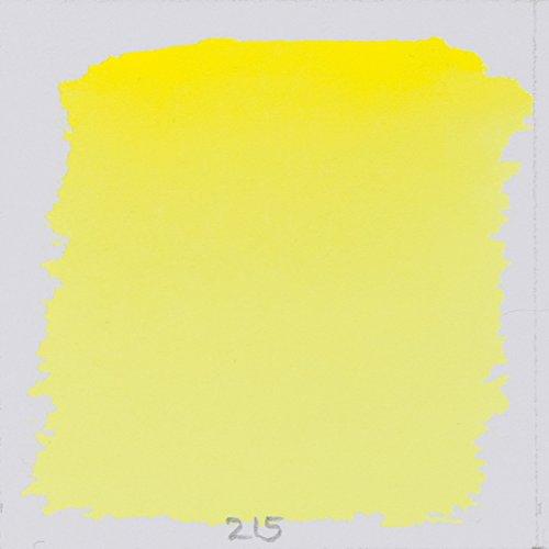 Schmincke Watercolor Pans - Lemon Yellow - Half Pan