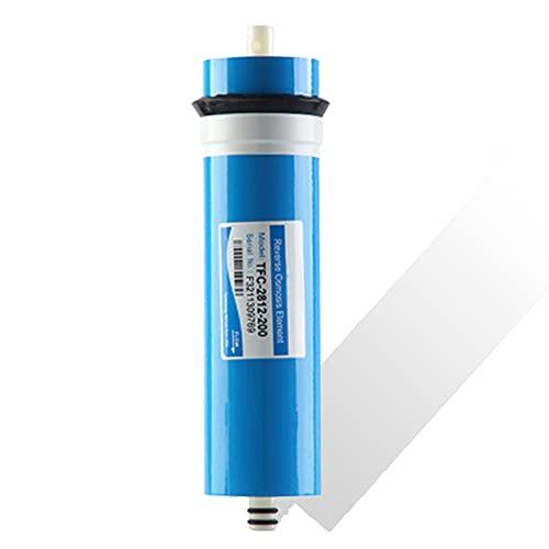 Filtro de Repuesto Universal para purificador de Agua de Membrana de ósmosis inversa Seca 2812-200 GPD, filtración física de 0,0001 micrones