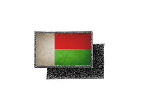 Aufnäher patch aufbügler vintage gedruckt flagge fahne madagaskar