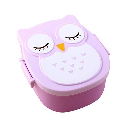 Ybzbx Boîte de Rangement de boîtes à Repas japonaises Portables pour bento pour Enfants, école Thermos extérieure pour Ensemble de Pique-Nique Alimentaire (Couleur: B)