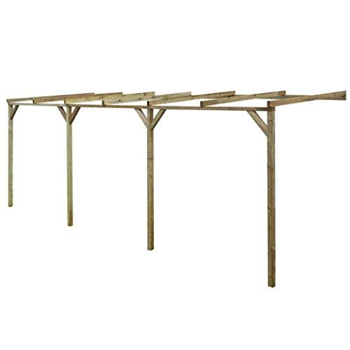 vidaXL Struttura pergolato in legno 2 x 3 x 2,2 m