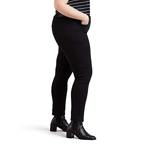 Levi's Women's Plus Size 311 Shaping Skinny Jeans, Soft Black, 36 (US 16) S