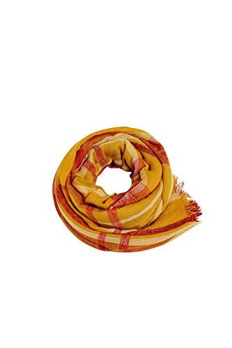 ESPRIT Accessoires Damen 089EA1Q011 Schal, Gelb (Honey Yellow 710), One Size (Herstellergröße: 1SIZE)