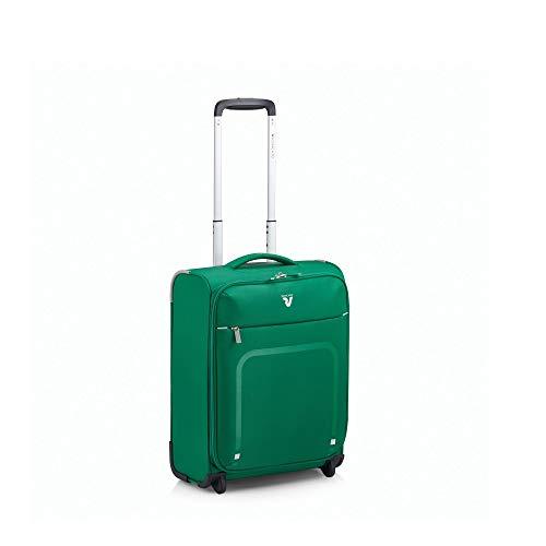 Roncato Lite Plus Maleta Cabina avión Verde, Medida: 45 x 35 x 18 cm, Capacidad: 25 l, Pesas: 1.3 kg, Maleta Cabina avión ryanair