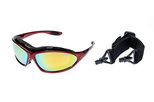 RAVS sportbril skibril voor alle weersomstandigheden met 70% contrastverbetering incl. softbag