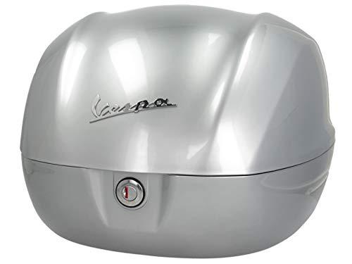 Topcase original Piaggio 32 Liter für Vespa Sprint, Primavera 50 125 CCM ab Baujahr 2019 (Silber 719/C)
