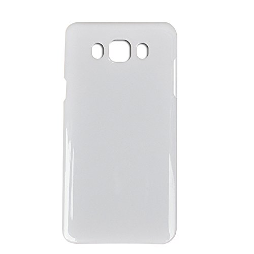UU FIX Copri Batteria Back Cover Per Originale Samsung Galaxy J7 (2016) J710 (Bianco) Posteriore Battery Door Ricambio con il Kit Degli Attrezzi