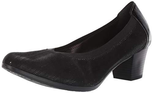 Spring Step Sabeti - Chaqueta de Piel sintética para Mujer, Color Negro, Color Negro, Talla 41 EU