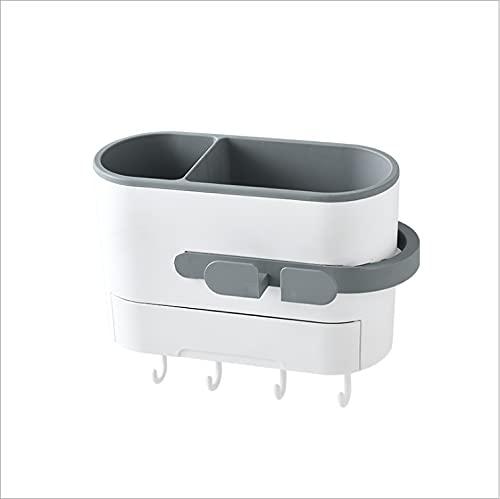 Secador de pelo Rack de almacenamiento de inodoro de perforación libre de baño estante de almacenamiento para colgar en la pared Secador de pelo Rack secador de pelo