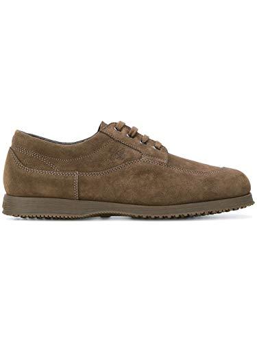 Hogan Luxury Fashion Herren HXM00E00110HG0B216 Braun Wildleder Sneakers | Jahreszeit Outlet
