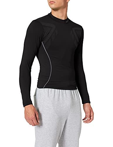 Luanvi Sahara Camiseta térmica, Hombre, Negro, XS