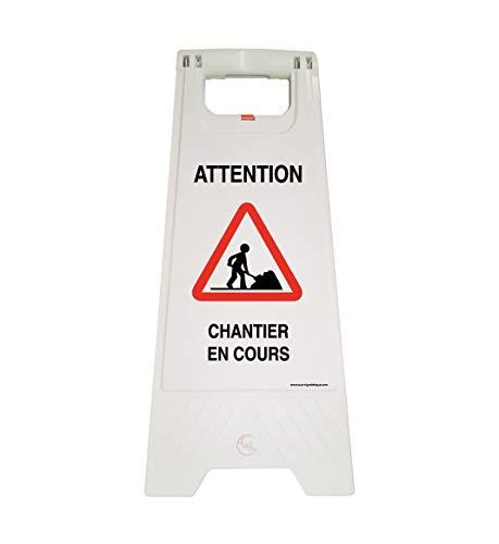 Aua Signaletique - Caballete de señalización para obras en...