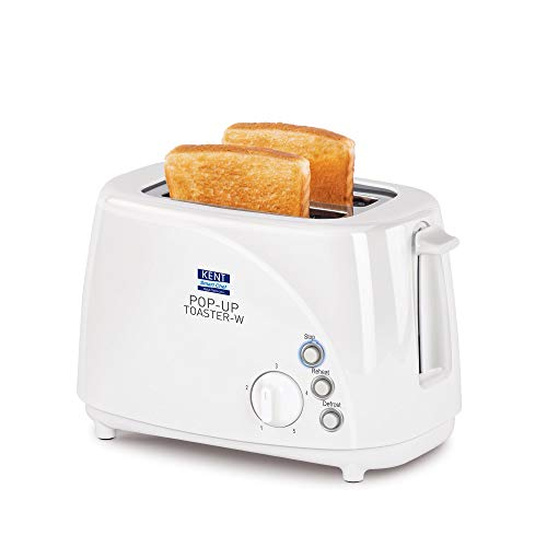 KENT - 16031 700-Watt 2-Slice Pop-up Toaster (White)